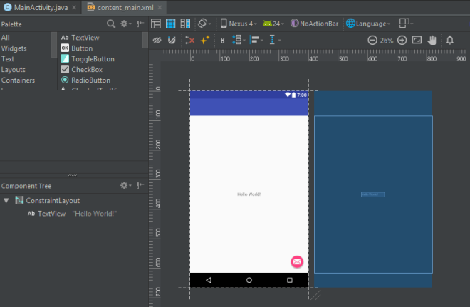 android-programming-xml-design